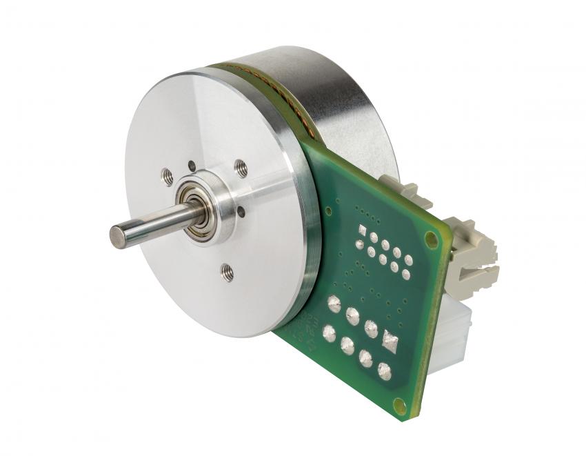 motor sin escobillas electrónica integrada