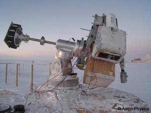 Motores cc en telecopio