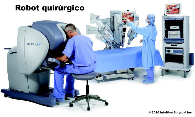 motores cc en robot quirurgico